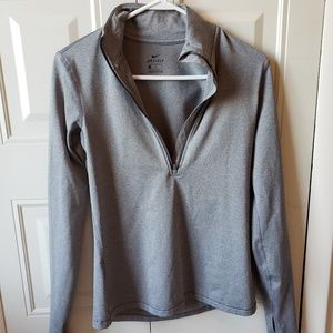 Gray Nike Dry-Fit Pullover